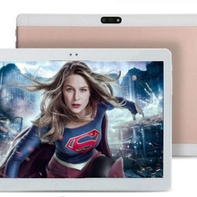 Free Shipping 10 inch 3G Tablet PC 1280x800 IPS Octa Core 4GB RAM 64G ROM Dual SIM Card WiFi Bluetooth GPS Android 7.0 Tablets