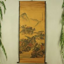 Antique collection Imitation ancient Ma Yuan landscape painting