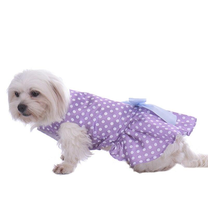 Perro ropa Vestidos Faldas perrito gatito casan trajes vestido de ...