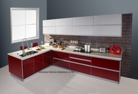 High Gloss Lacquer Kitchen Cabinet Mordern LH LA096