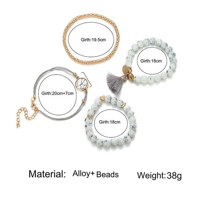 Men's And Women's Bracelets 4 Pieces / Set  1