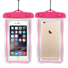 Universal Waterproof Phone Case For iPhonex 8 7 6plus Coque Pouch Waterproof Bag Case For Samsung Galaxy S8 Swim Waterproof Case цена 2017