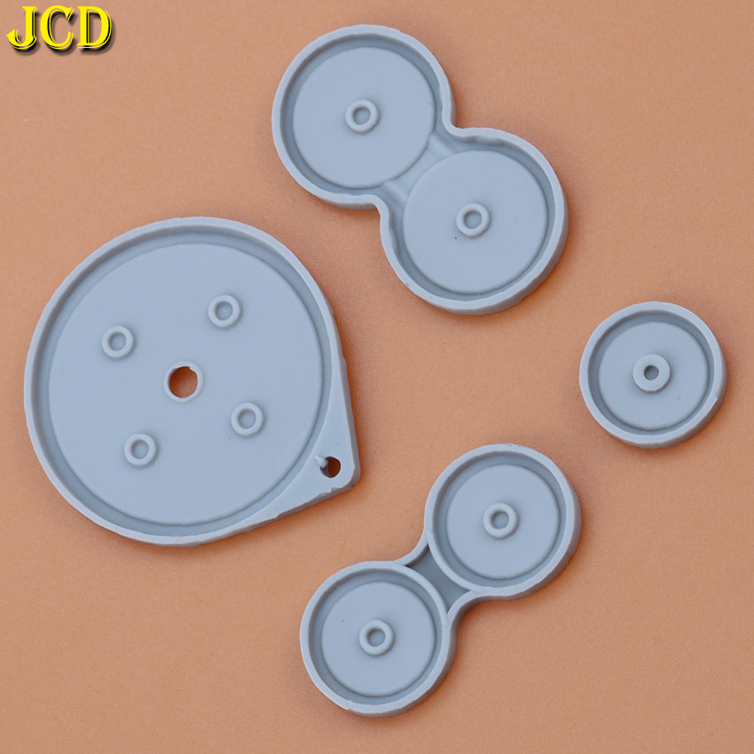 Image 4 - JCD 1Set Rubber Conductive Buttons For Nintend Game Boy Advance SP For GBA SP Silicone Pads Buttons-in Replacement Parts & Accessories from Consumer Electronics