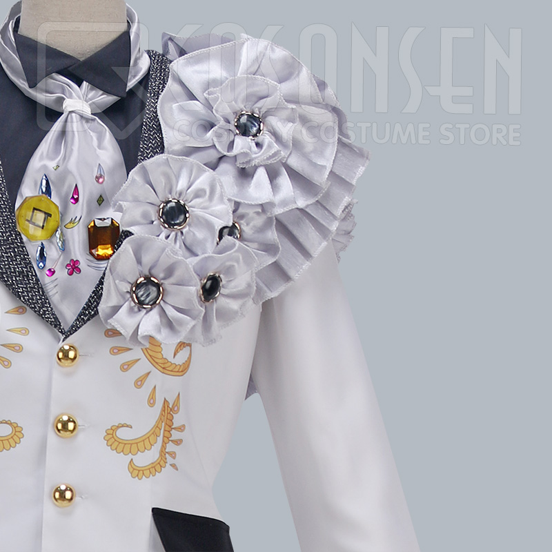 Image 5 - Anime Idolish7 OP Nagi Rokuya WiSH VOYAGE Cosplay Costume new Full Set All Sizes COSPLAYONSEN adult costume-in Game Costumes from Novelty & Special Use