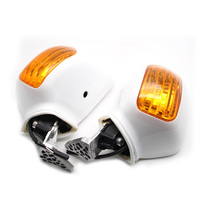 For Honda Goldwing GL1800 01 12 2001 2012 Motorcycle Left Right Rear view Mirrors W/ LED Turn Signals