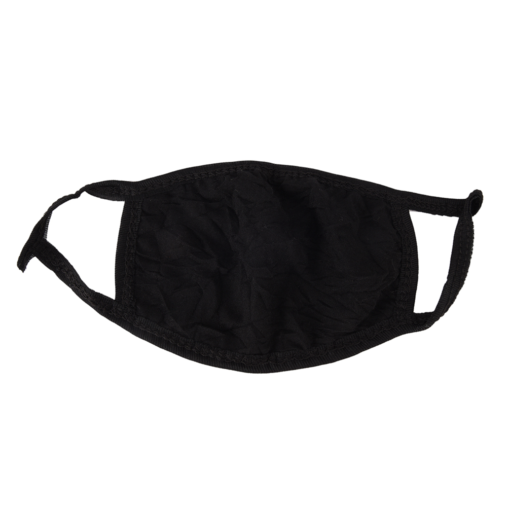 Hot Black Mouth Mask Cotton Anti Dust Protective Double Kpop Mask Washable Many Times Using Hot Sale Wholesale
