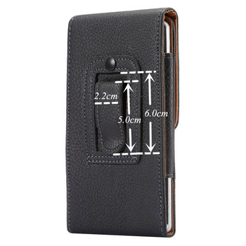 Universal Belt clip Holster for 3.5''~6.3'' Mobile Phone Bag Case Men Waist Bag for iPhone Samsung Huawei Hidden Magnetic Buckle 5