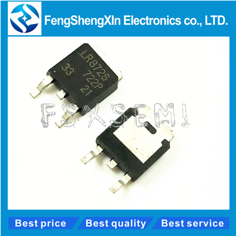 10pcs/lot IRLR8726 LR8726 IRLR8726TRPBF IRLR8726PBF TO-252 HEXFET Power MOSFET