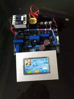 Nd yag лазера части аксессуар источника питания + сенсорный экран без конденсатор