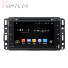 "7"" Quad Core Android 5.1 Car GPS Navigation For GMC 2016 Full touch With Radio Multimedia Video Mirror Link 16GB Flash"