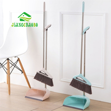 JiangChaoBo Scraping Dustpan Sweep Set Cleaning Tools Household Broom Soft Hair