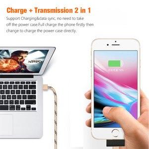 Image 4 - Oisle 2800 3200mahバッテリー充電器ケースiphone 8/7/6(s) 5 5s、se、超スリム薄型パワーバンクミニバックアップバッテリポータブル充電ケース