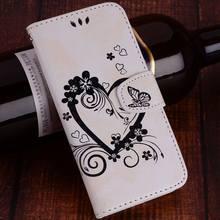 Para Samsung Galaxy S10 S10E S9 S8 A6 A7 A8 A9 j4 j6 Plus 2018 j3 j5 j7 2017 Vintage preciosa mariposa caso de buena calidad Capa D23Z