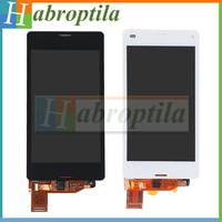 100% Testado Para Sony Xperia Z3 Compact LCD Screen Display Toque Digitador Assembléia Para 4.6