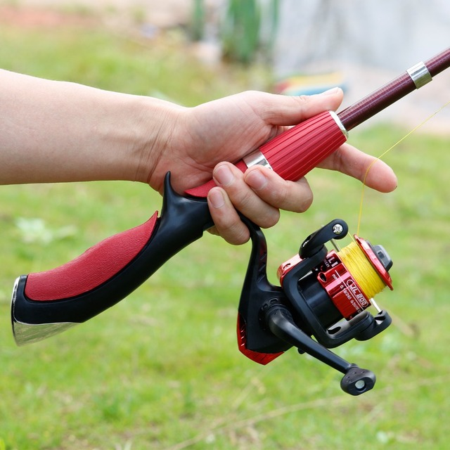 Carbon Fiber Fishing Rod With High-Quality Fishing Reel Tackle Set