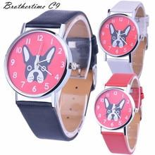 New Arrive Fashion Watch Casual Top Brand Steel Bracelet Wristwatch Watch Women Ladies Casual Montre Dog