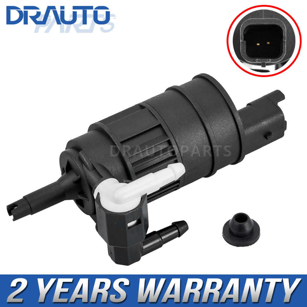ZYElroy Car Front Rear Windscreen Windshield Twin Outlet Washer Pump Replacement for Renault Clio MK2 1998-2014 7700430702