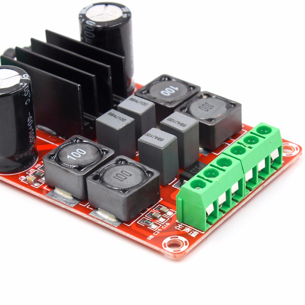 Image 5 - TPA3116D2 2x50W Digital Power Amplifier Board 5V To 24V Dual Channel Stereo AMP-in Integrated Circuits from Electronic Components & Supplies