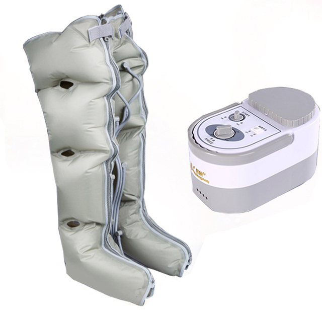 Breathable Air Leg Massager Elderly  Automatic Pneumatic Calf Massage Instrument Air Wave Therapy Gas Pressure Foot Machine