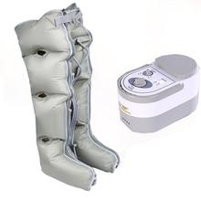Oddychający masażer do nóg w podeszłym wieku automatyczne pneumatyczne narzędzie do masażu łydek terapia falą powietrzną stopka dociskowa gazowa