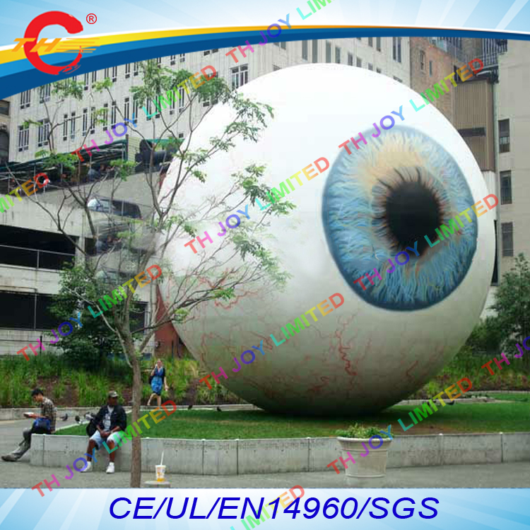 free air shipping4m5m airtight outdoor event halloween decoration giant inflatable eyeball eye ball
