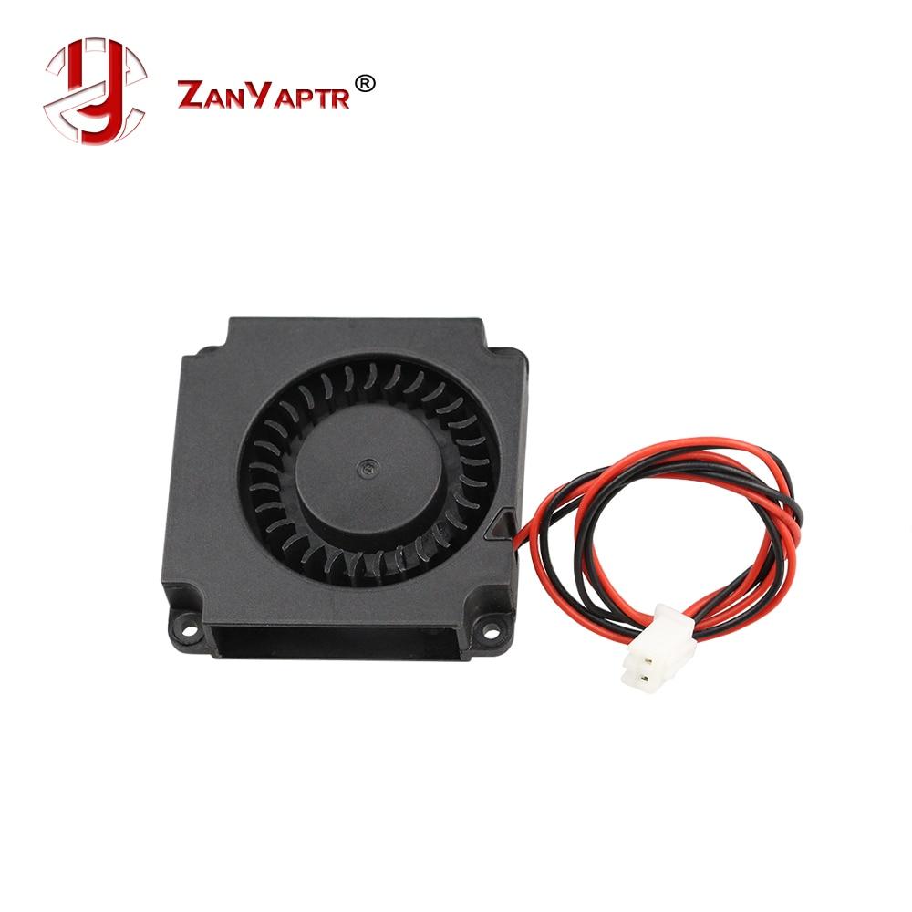 Turbine Fan 5V 12V 24V 40mm * 10mm 4010 DC Turbo Fan 5V Bearing Blower Radial Cooling Fans For Creality CR-10 Kit 3D Printer
