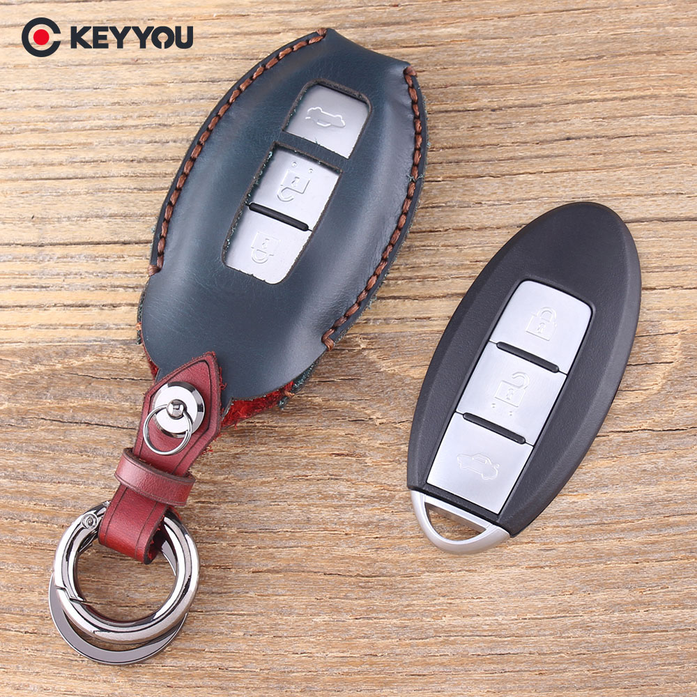 4 Button Smart Car Key 315mhz For Infiniti G25 G35 G37 Q60 2007 2008 20072008 Keyless Entry Remote Dealer Program Keyyou Leather Keychain Cover Case Nissan Tidda Livida X Trail T31