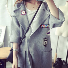 New Nice Fashion Spring Winter Long Knitted Cardigan Women Sweater Slim Thick Woman Ponchos Casual Outwear Cardigans A258