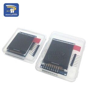 Image 2 - 3.3V 1.44 1.8 אינץ סידורי 128*128 128*160 65K SPI מלא צבע TFT IPS LCD תצוגת מודול לוח להחליף OLED ST7735