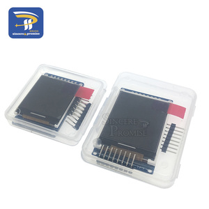 Image 2 - 3.3V 1.44 1.8 inch Serial 128*128 128*160 65K SPI Full Color TFT IPS LCD Display Module Board Replace OLED ST7735