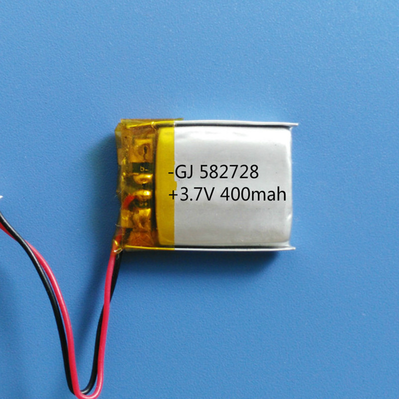 Free Shipping By DHL/Fedex 100pcs 582728 3.7V Lithium