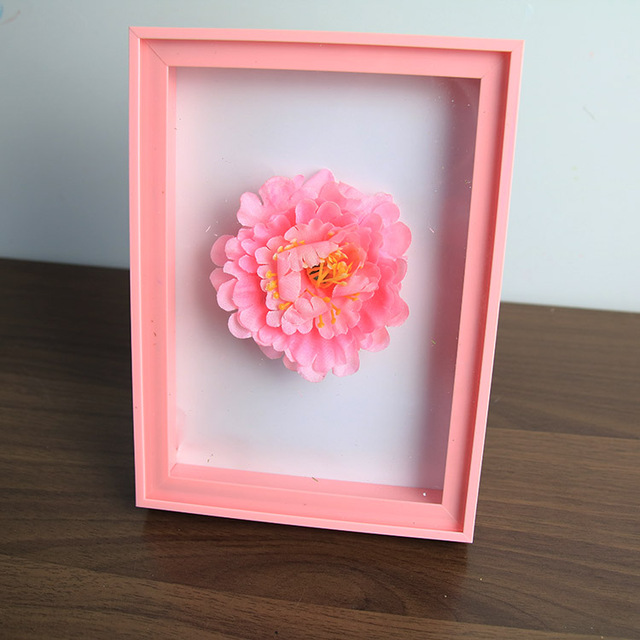 Aqumotic 2pc Hollow Photo Frame 3D Fashion Carved Plastic Frames ...
