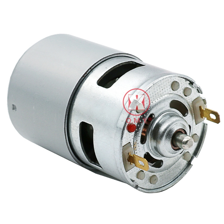 OMY 1pc High Speed Electric 775 Motor Low Noise DC 12V-24V 0.16 A Large Torque Motor 7000 RPM Ball Bearing Power Tools hot sale factory price pvc giant outdoor water inflatable slide bounce house bouncy slide