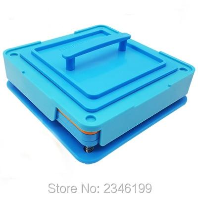 1Set/Lot Empty Capsule Filling Plate 100 Holes Size 1# Blue Medical Powder Capsule Filling Machine, Empty Capsule Filling Mold capsulcn100m semi automatic capsule filling machine 0 capsule filling machines