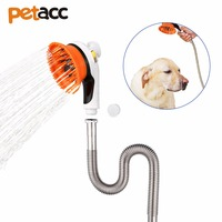 Petacc متعددة الوظائف جهاز تدليك المياه بخاخ التنظيف والاستحمام pet الكلب حيوان أليف حمام رذاذ pet القط حمام دش