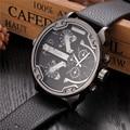 De gran tamaño Masculino Relojes de Marca de Lujo Famoso Diseñador Único Hombre Reloj de Cuarzo Ocasional Relojes Grandes Hombres del relogio masculino de luxo