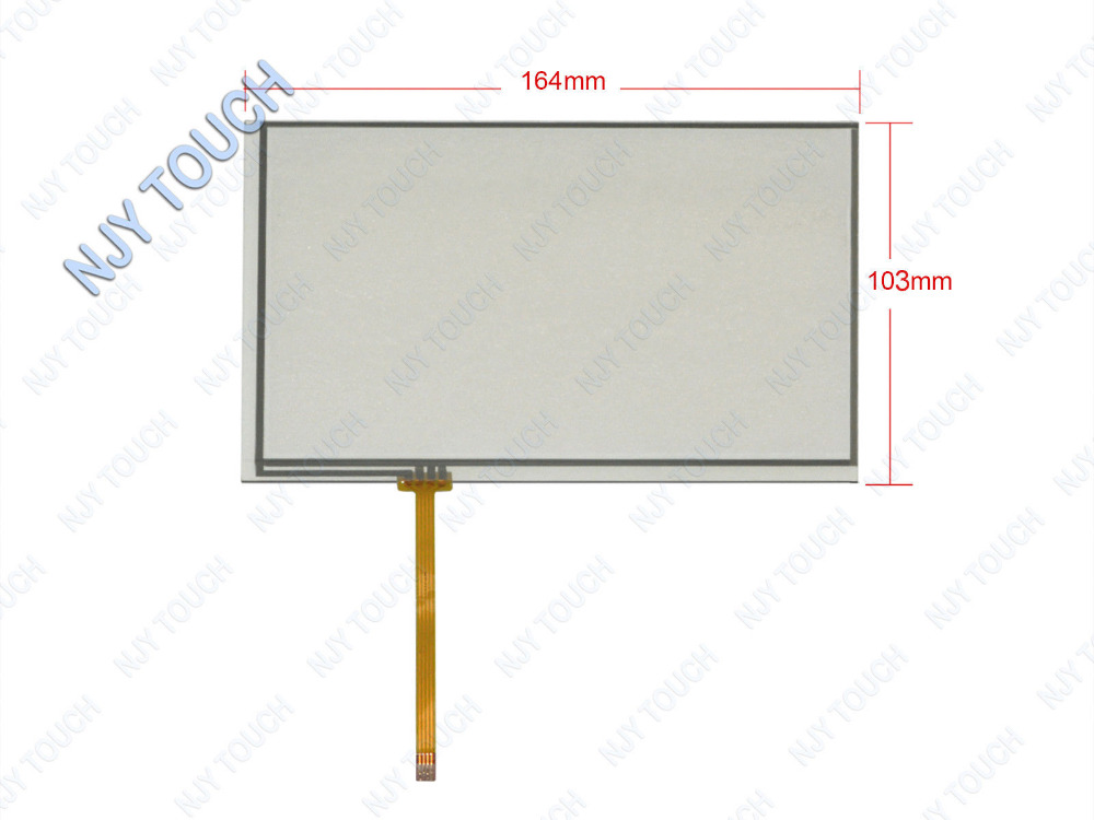 Wholesale 7 Inch 4 Wire Resistive Touch Screen Panel Digitizer for INNOLUX  AT070TN82 AT070TN82 LCD panel