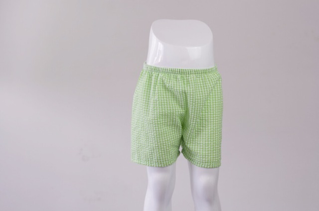 75c992cfc Bulk Wholesale Boutique Baby Clothes Summer Boys Shorts Plaid Cotton  Seersucker Boys Personalized Relaxtion Shorts. Price: