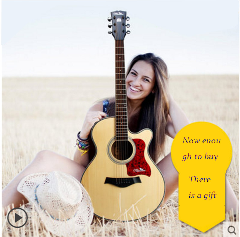 Guitar 40 inch 41 inch acoustic guitar beginner entry guitar student male and female genuine musical instruments diduo 40 inch 41 acoustic guitar beginner entry student male and female instrument wound guitarra