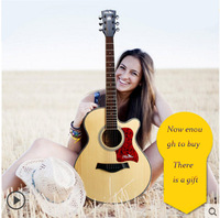 Guitar 40 Inch 41 Inch Acoustic Guitar Beginner Entry Guitar Student Male And Female Genuine Musical