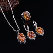 Наборы ювелирных изделий в винтажном стиле, модный черный кристалл и овальная смола, античный серебряный цвет, сплав, ювелирный набор для женщин, вечерние, подарок