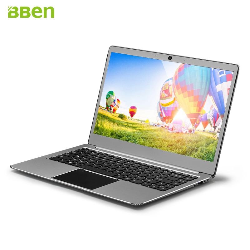 Ordinateur portable Bben14.1inch Ultrabook Intel Apollo Lake N3450 4 GB/64 GB avec fente SSD M.2, pré-installation en métal FHD windows10 - 5