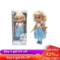 Original Disney Princess Cinderella Little Girl Doll Gift High Quality Beautiful Princess Snow White Toys Action Toy Figures