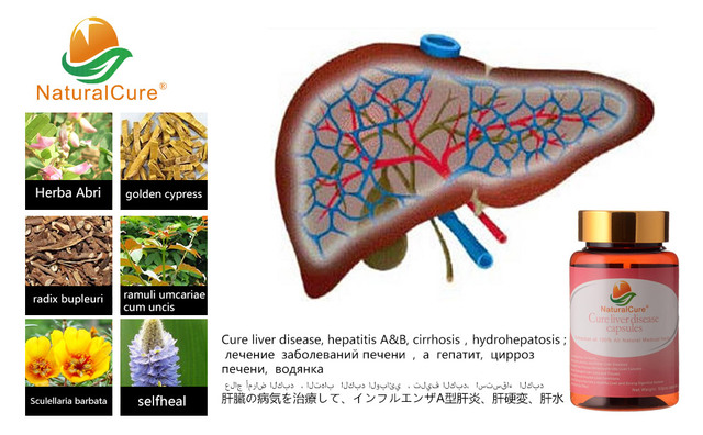 NaturalCure Cure Liver Disease Caps-ules, Cure and Prevent Cirrhosis, Cure Liver Cancer, 100% Effective and No Side Effect