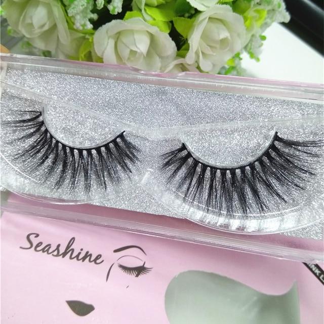 0a2d250903f 3d Mink Lashes Premium False Eyelashes Eyelash Extension 1Pair Single Case  Natural Makeup real siberian 3d mink strip eyelashes