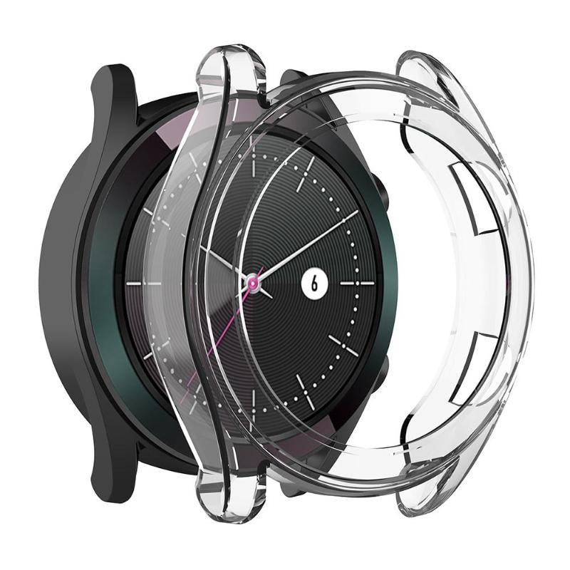 Soft TPU Transparent Protective Case Cover For Huawei Watch GT Elegant 42mm