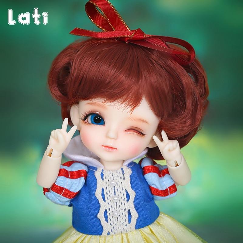 цена на OUENEIFS Lati Yellow Wink Luna 1/8 SD BJD Resin Figures Body Model Baby Girls Boys Dolls High Quality Toy For Birthday Christmas