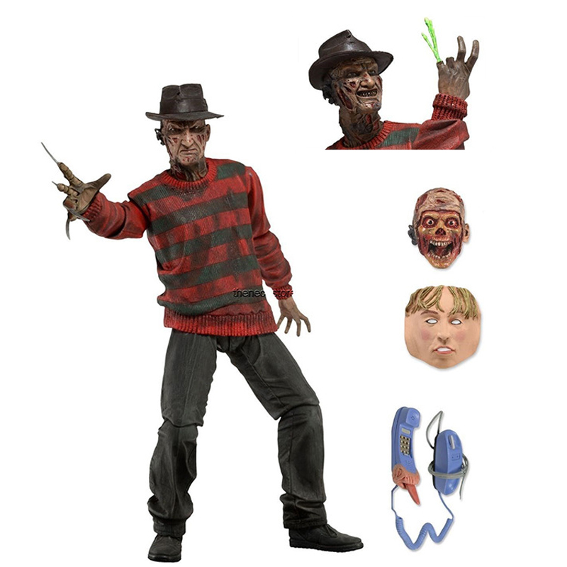 ZXZ 15cm Movable Figurine A Nightmare On Elm Street PVC Action Figure Toys Decoration Kid Adult Gift neca a nightmare on elm street 3 dream warriors pvc action figure collectible model toy 7 18cm kt3424