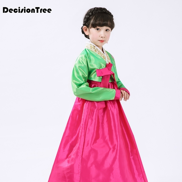 09c01b272 2019 new children hanbok dress girl korean hanbok costume kids ...