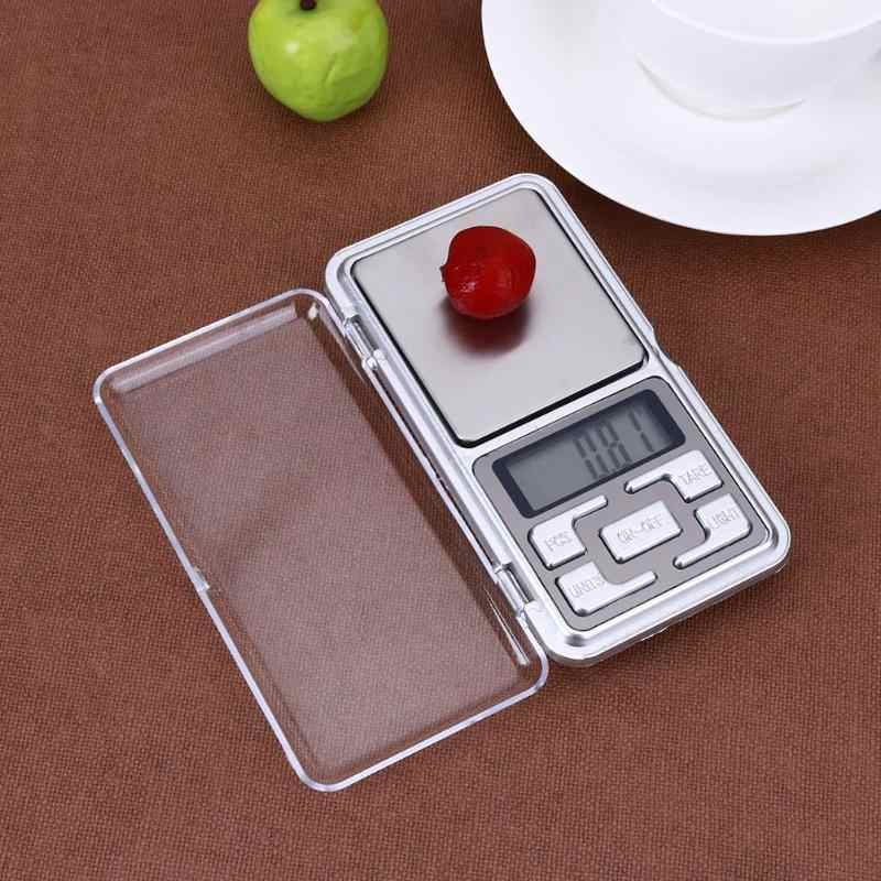 Portable Mini Pocket LED Digital Scale Gram Balance Weight Electronic Scales Food Tea Chemical Industry Weighing Scale